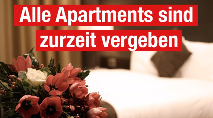 Alle Apartments sind zurzeit vergeben